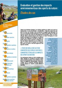 Impacts environnementaux des sports de nature
