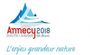 Logo JO 2018 Annecy