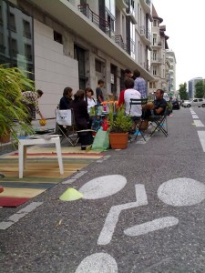 PARKing DAY Annecy 2009 1