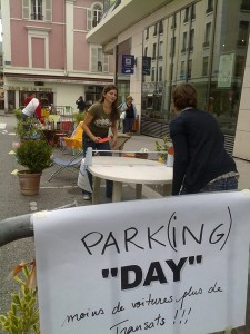 PARKing DAY Annecy 2009 2