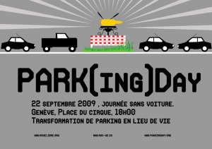 Parking Day 2009