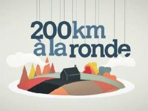200km à la ronde